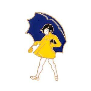 Jewelry - {5/$25} Morton salt girl pin